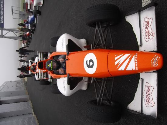 Silverstone Single Seater Experience: raring to go!