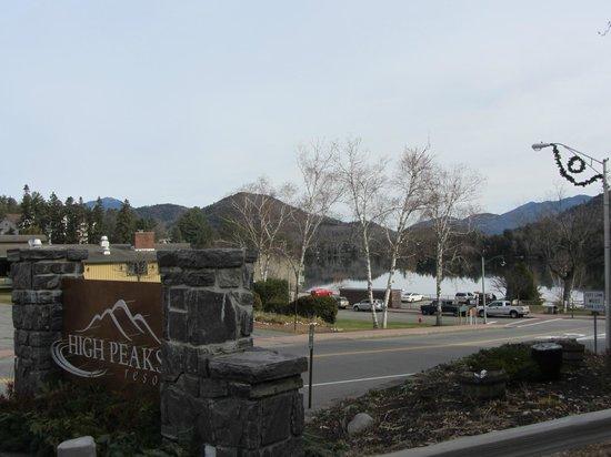 High Peaks Resort: un hôtel très bien situé