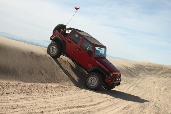 Las Vegas Rock Crawlers: very cool... hold on to your hat