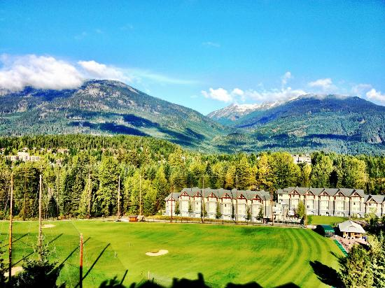 The Westin Resort & Spa, Whistler: View from top floor room