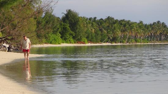 Menjangan Resort Karimunjawa: la plage