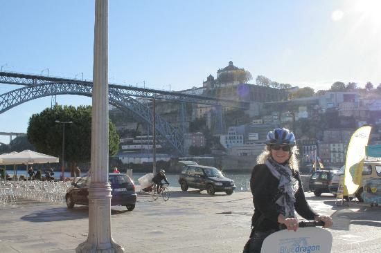Porto, Portugal: Learning to segway!