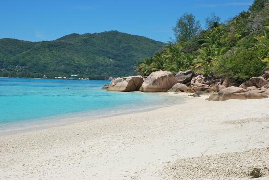 New Emerald Cove: spiaggia dell'albergo