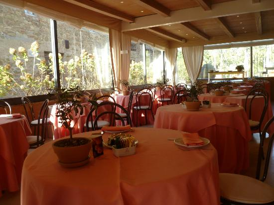 Le Tre Vaselle Resort & Spa: breakfast room