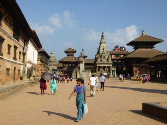 Shiva Guest House1 & 2: Vue d'ensemble de la place