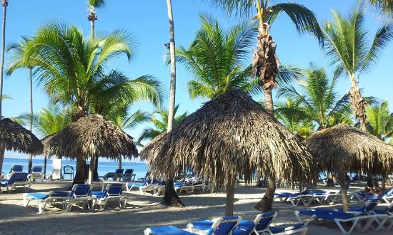 Catalonia Gran Dominicus: Playa a las 7:00am
