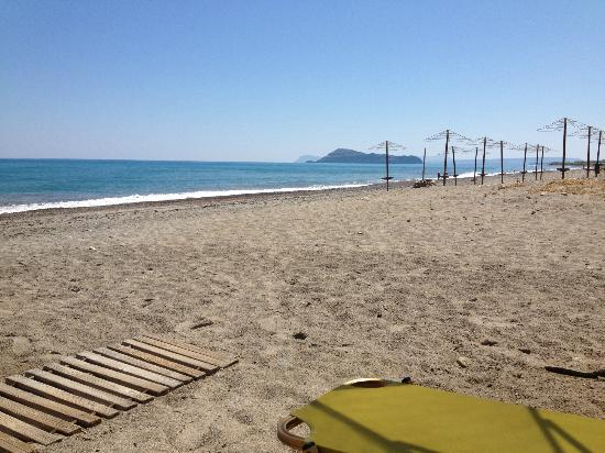Asterion Hotel Suites and Spa: Beach next to the hotel