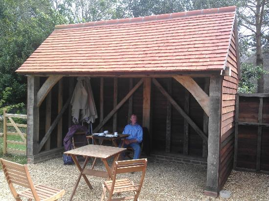 Northney Farm Tea Rooms: More seating outside