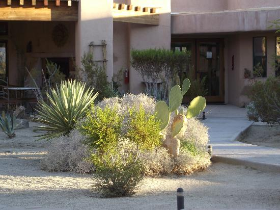 Borrego Valley Inn: courtyard
