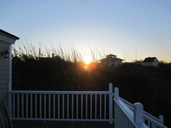 Castle Hill Inn: sunrise