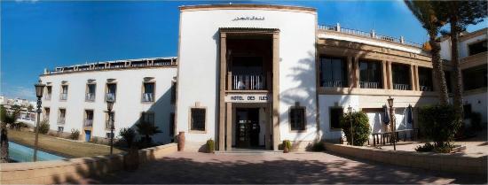 Hotel des Iles: Entree
