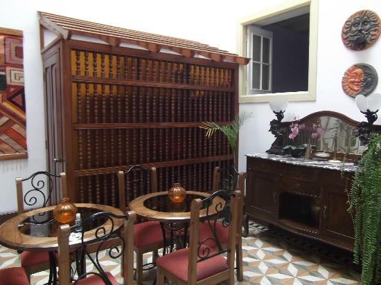 Casa De Huespedes Porta: 'Courtyard' inside the hotel