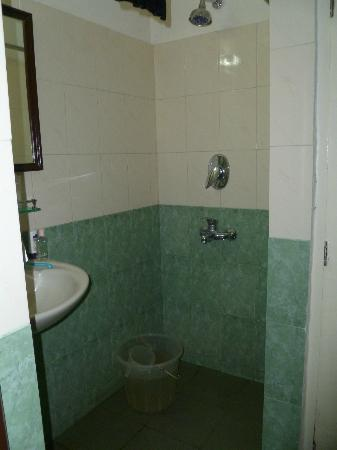 YWCA International Hostel : Shower and toilet