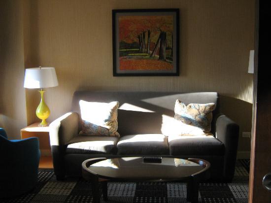Hotel Lincoln, a Joie de Vivre Hotel: Sitting area