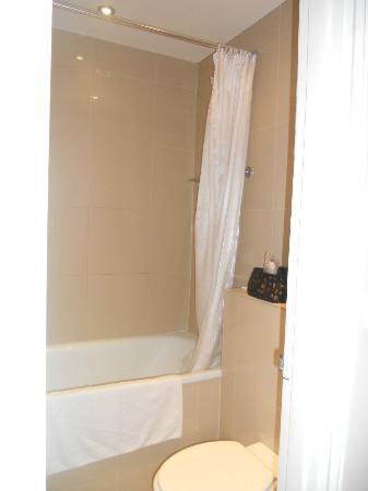 Caring Hotel: Il piccolo bagno visto dalla porta