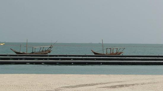 Katara Cultural Village: The sandy beach at Katara