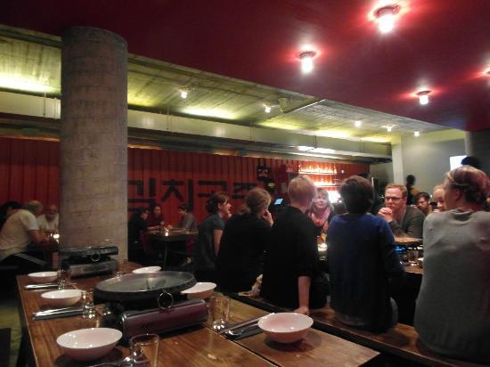 Kimchi Princess: The restaurant