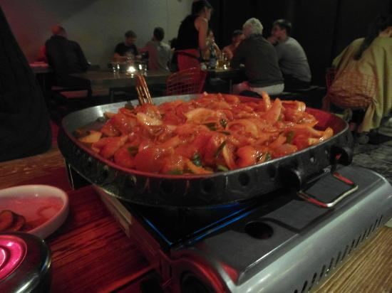 Kimchi Princess: The grill