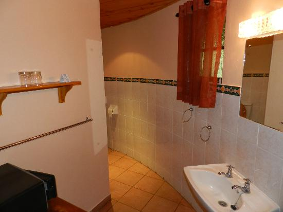Gooderson DumaZulu Lodge and Traditional Zulu Village : Salle de bains