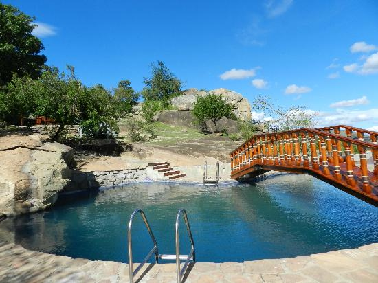 Lobo Wildlife Lodge : autre vue de la piscine