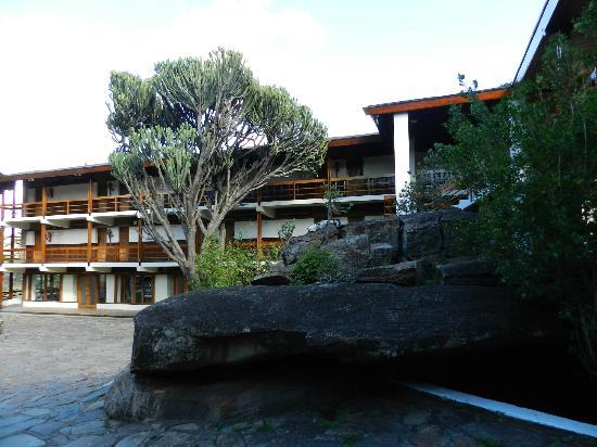 Lobo Wildlife Lodge : vue générale de l'hotel