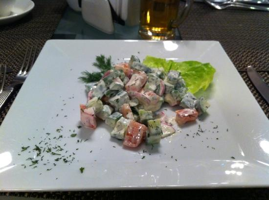 Design Hotel (D'Otel): This is a salad?