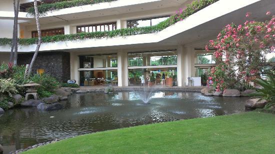 Makena Beach & Golf Resort: Courtyard area from the ground floor