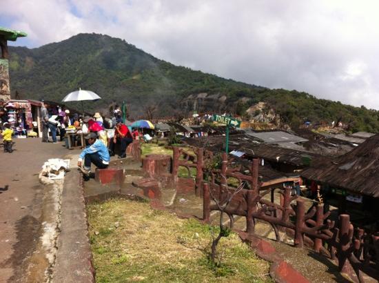 Sensa Hotel: Tangkuban Perahu (Volcano)