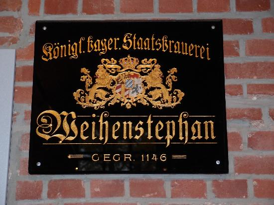 Weihenstephan: A nice sign