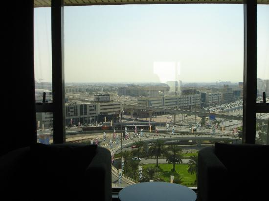 Pullman Dubai Creek City Centre: Vue de la chambre