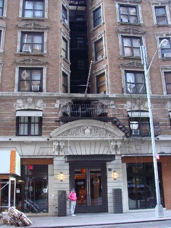 Amsterdam Court Hotel: vista esterna