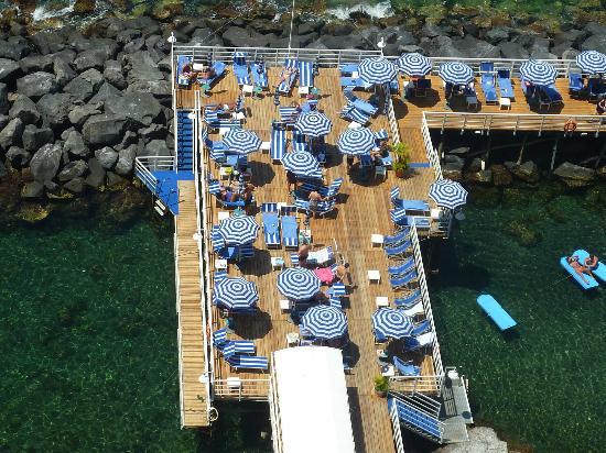 Grand Hotel Riviera: ponton (mer)