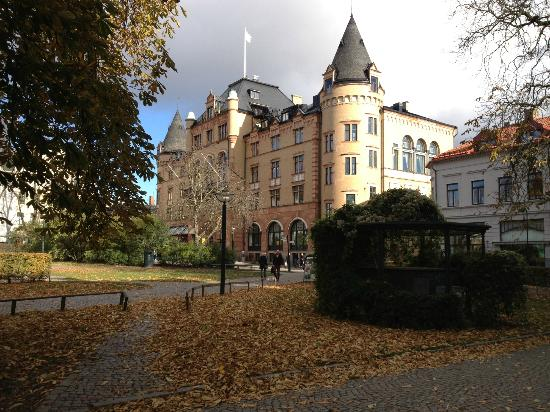 Grand Hotel Lund: View from the park