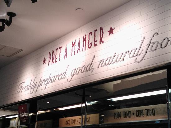 Pret A Manger: Logotipo