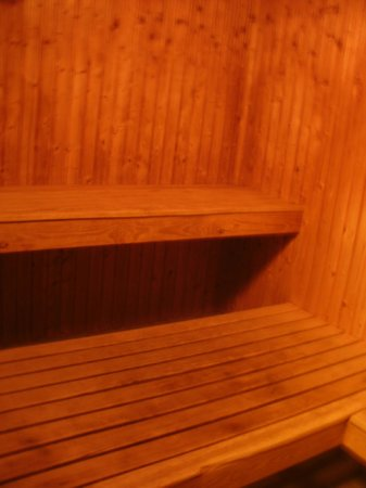 Lord Nelson Hotel: Small sauna for private use