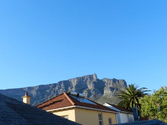 Cloud 9 Boutique Hotel & Spa: Vue sur Table Mountain