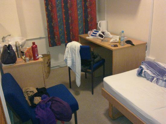 Hostel Strand Continental: Mein Einzelzimmer!