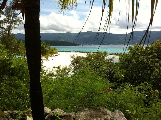 Beachcomber Sainte Anne Resort & Spa: Vue de Sainte Anne