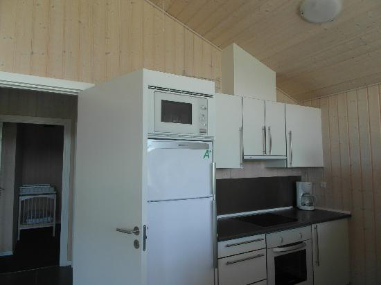Lalandia Resort: Tthe kitchen