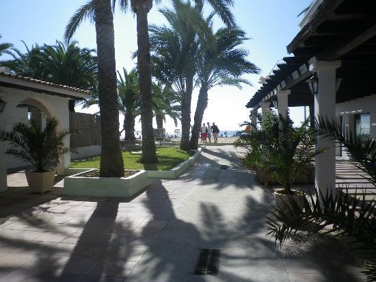 Ushuaia Ibiza Beach Hotel: Unsere Hotelanlage.