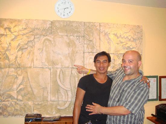 Hilltop Hotel: Bangdol et moi
