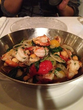 Shila - Sharon Cohen's Kitchen & Bar: tiger shrimp