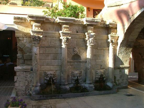 Rethymnon Old Town: La Fontana Rimondi