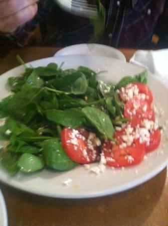 Blue Mountain Pizza and Brew Pub: lg Greek Salad