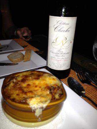 Coconut Grove : Best onion soup ever.