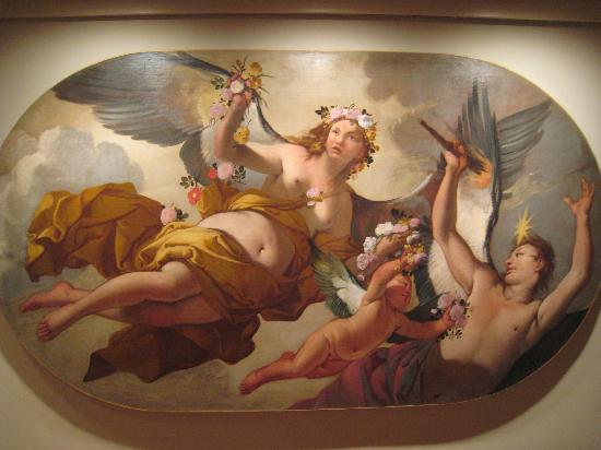 Ca' Rezzonico: Delightful ceiling fresco