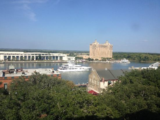 Holiday Inn Express Savannah - Historic District: view from our room
