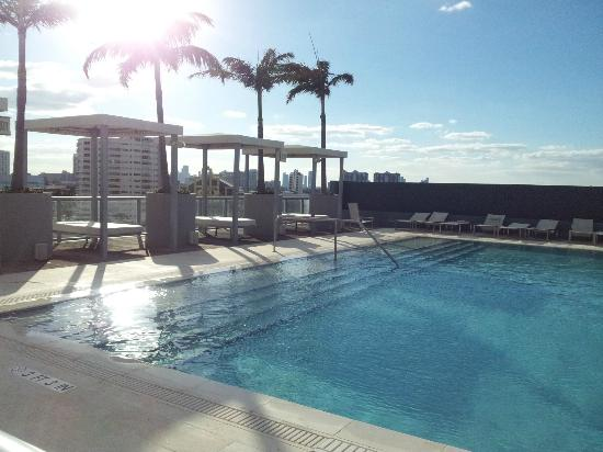 Boulan South Beach: Pool on the roof