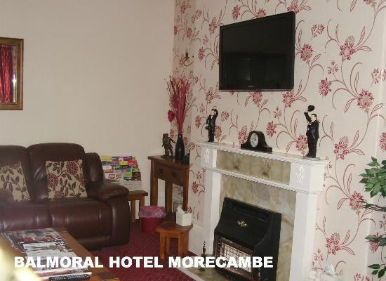 The Balmoral Guest House: Lounge