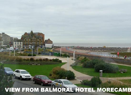 The Balmoral Guest House: View from room